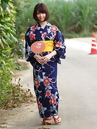 amazing; hairy; idol; japanese; kimono; outdoors; small; teen;