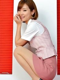 beautiful; japan idols; japan teens; japanese teens; legs; office; secretary; solo; upskirt;