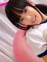 brunette; japan teens; japanese teens; sport;