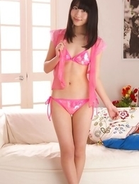 beautiful; bedroom; brunette; japan teens; japanese teens; lingerie; solo;